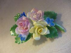 Vintage ROYAL ADDERLEY Bone China Rose by PamelaMurphyVintage, $12.00