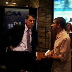#JMUDukes head men's basketball coach Matt Brady discusses the upcoming season with media at #CAAHoops Media Day