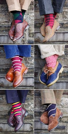Tailored Chap - Get creative with your socks. No more boring solid colours.
