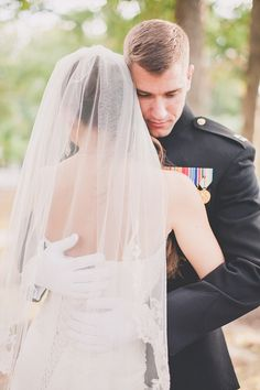 Chic military weddings: Army, Navy, Marine Corps weddings with a beautiful vintage vibe. Couple Senior Pictures, Bride Pictures, Engagement Pictures, Wedding Pictures, Couple Photography Poses, Wedding Photography, Photography Ideas, Dream Wedding, Wedding Day