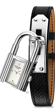Hermes ● Kelly steel watch