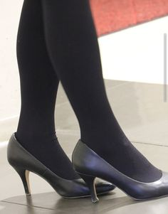 Tights, Leggings, Stiletto Heels, Stockings, Boutique, Sexy, Shoes, Fashion, Navy Tights