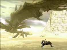 Phalanx - The longest of the Colossi, it is easily one of the better fights due to the way that you have to fight it. I could use some of the mechanics to this fight when creating a boss.