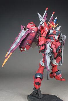 RG 1/144 Justice Gundam Painted Build - Gundam Kits Collection News and Reviews