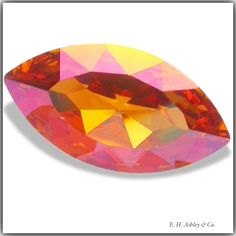 4228 10/5mm Summer Blush (Navette)   Coating:  http://www.ehashley.com/ehashley-custom-coatings-effects-on-swarovski-and-german-glass.html#    Shapes & Sizes:    http://www.ehashley.com/eh-ashley-wholesale-swarovski-crystal-fancy-stones.php