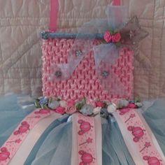 Cinderella Magic Blue Wand Hair Clip and by Sootysdressupfriends, $28.00