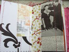 shabby journal pages <3