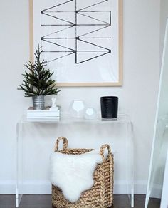 White and Light Entryway.