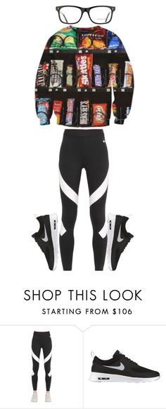 """Untitled #385"" by sydthekyd01 on Polyvore featuring NIKE and Burberry"