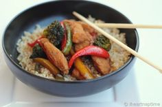 Chicken and Vegetable stir fry :: 30-minute meals for busy moms on the go | #BabyCenterBlog