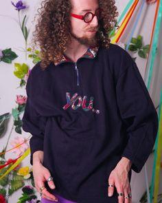 90s vintage sweatshirt retro pullover minimal navy | Etsy