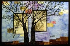 Michelle Dobrin Fiber Art: Photo Landscape Quilts