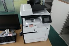 Laserdrucker HP Laserjet Pro 400 K MFP (M475dw) - Büroausstattung aus Insolvenz - Karner & Dechow - Auktionen