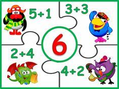 Autism Classroom, Preschool Classroom, Preschool Learning, Teaching Math, Math Charts, Kindergarten Math Worksheets, Math Numbers, Math For Kids, Afrikaans