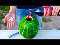 Art In Watermelon Peacock   Fruit & Vegetable Carving Lessons - YouTube