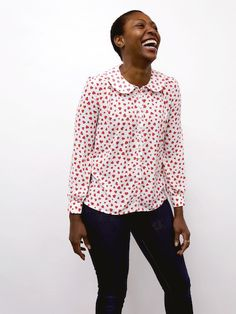 By Hand London Sarah Shirt - PDF sewing pattern – By Hand London