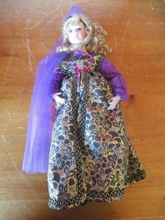The Princess And The Pea Porcelain Doll-Paradise Galleries