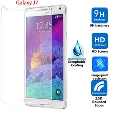Protector De Pantalla Cristal Templado Premium Para Samsung Galaxy J7 - http://complementoideal.com/producto/protector-pantalla/protector-cristal-telefono/protector-pantalla-cristal-templado-premium-samsung-galaxy-j7/