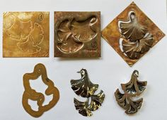 David Bigazzi repousse project, from the Revere Masters Symposium 2014