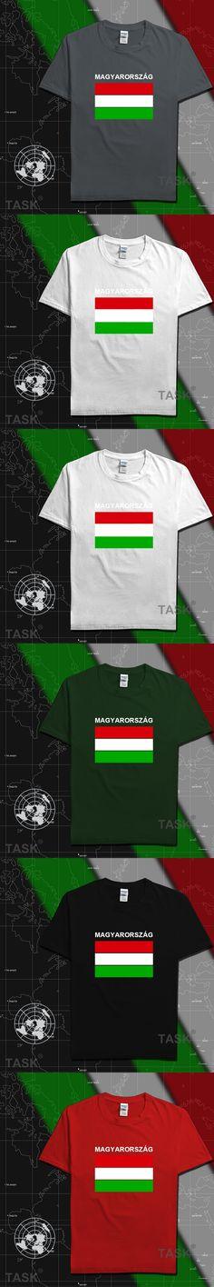 Hungary Fans t shirt men t-shirt tshirt new cotton tees footballs basketballs 2017 Hungarian flag HU sporting nation jerseys'