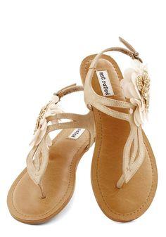 Romance Realized Sandal | Mod Retro Vintage Flats | ModCloth.com
