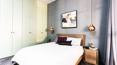 Michael & Carlene: Guest bedroom gallery | The Block Glasshouse | 9jumpin