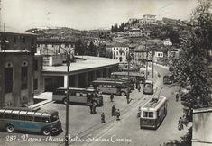 Verona --Piazza Isolo - Stazione Corriere 20-05-1957