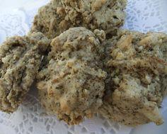 Pesto Scones, Pesto, Muffin, Cookies, Breakfast, Desserts, Food, Biscuits, Morning Coffee