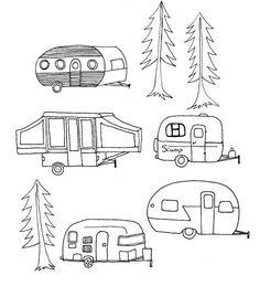 Shoregirl's Creations: Vintage Camping Trailer links