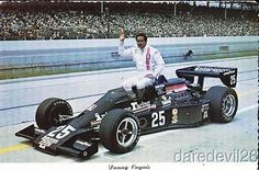 1978 Danny Ongais Interscope Racing Cosworth Parnelli Indy 500 Indy Car postcard
