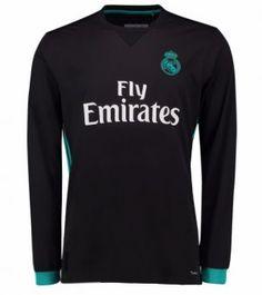 2017 Cheap Jersey Real Madrid LS Away Replica Football Shirt [AFC483]
