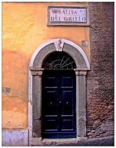Salita del Grillo, Roma.