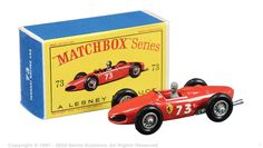 Matchbox Regular Wheels No.73B Ferrari F1 Racing Car