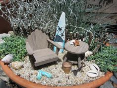 miniture gardens | Post image for Beach Miniature Garden