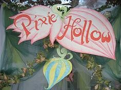 Pixie Hollow Sign For Tinkerbell Party