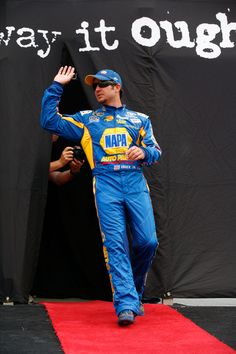 Martin Truex Jr. during Driver Introductions.