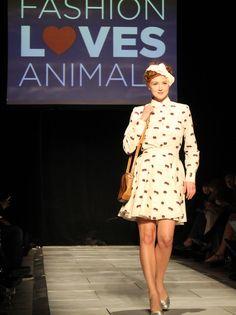 Fashion Loves Animals: Vaute Couture & Love is Mighty & Matt
