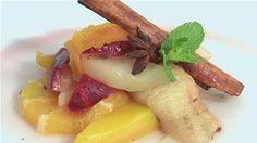 How To Make A Winter Fruit Salad Recipe (Vegetarian)