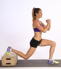 Bulgarian split squat Exercise To Get Rid Of Cellulite On Buttocks And Thighs
