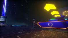 Virtual Reality, Cyberpunk, Neon Signs, Animation, Blog, Art, Art Background, Kunst, Blogging