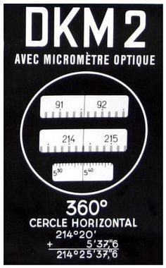 Kern DKM2 ~ 1 sec. Micrometer