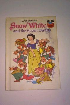 Walt Disney's Snow White and the Seven Dwarfs 1973 HARDCOVER