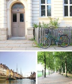 The wonderful city of Copenhagen, Denmark. Grab a bike and explore the canals, the city and the old beautiful arcitechture