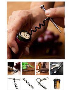 Always Prepared Keychain Corkscrew - Finding Vino