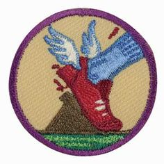 Junior Girl Scout Badge -- Practice with Purpose. Even the best ...