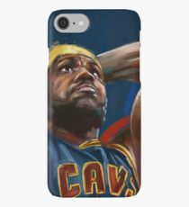 Lebron James Painting iPhone Case/Skin Iphone Case Covers, Phone Cases, Basketball Design, Lebron James, Baseball Cards, Future, Painting, Future Tense, Painting Art
