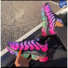 Nike Air Vapor Max Shoes Nike Air Vapor Max Be True Rainbow Sneakers . Moda Sneakers, Cute Sneakers, Sneakers Nike, Nike Trainers, Girls Sneakers, Tn Nike, Nike Air Vapormax, Souliers Nike, Basket Style