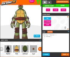 Nickelodeon enlists SpongeBob SquarePants and the TMNT team for digital tutoring 'Code-It' programme Control Flow, Spongebob Squarepants, Teenage Mutant Ninja Turtles, Tmnt, The Help, Coding, Learning, Digital, Studying