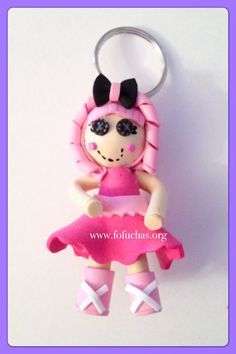 Lalaloopsy fofucha keychain. Doll is made using foam sheets. Measures 3 inches. Can also be perfect for kids to attach to their backpacks. to order visit fofuchas.org or like us at facebook.com/fofuchashamdmadedolls #Lalaloopsy #fofuchas #crafts