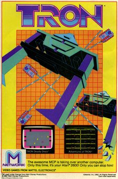 atari 2600 / TRON.  another fave Atari game